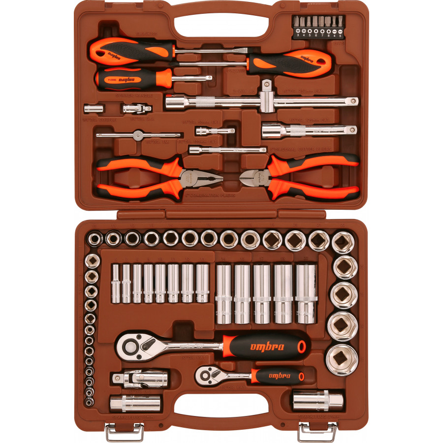 OMT69S OMBRA Набор инструмента универсальный 69 предметов