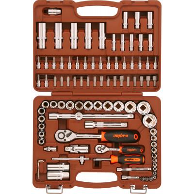 Набор инструмента с головками торцевыми 12-гранными 94 предмета