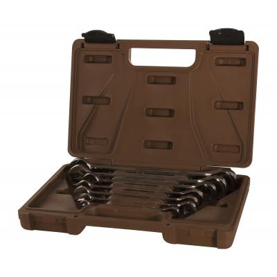 Набор ключей гаечных комбинированных трещоточных SNAP GEAR 8-19 мм 7 предметов