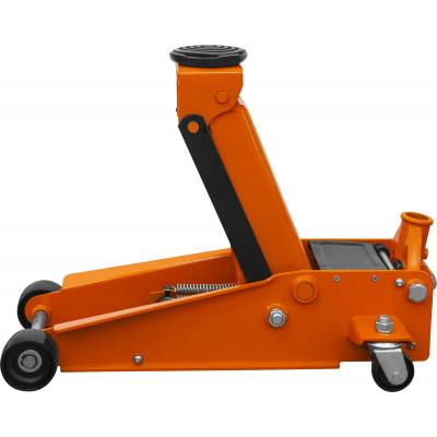 Домкрат подкатной 3 т. гаражный двухпоршневой 133-485 мм