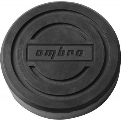Опора резиновая обхватывающая для подкатных домкратов Ø-120 мм Н-28 мм