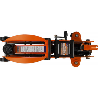 Домкрат подкатной 2.5 т. с фиксатором в кейсе 140-387 мм